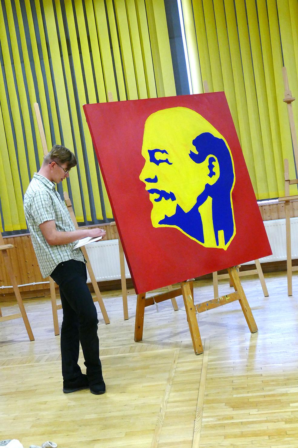 Marko Vaher_Lenin
